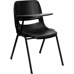 Student Chair FLIP-UP Desk FREE SHIP! School testing center note taking table