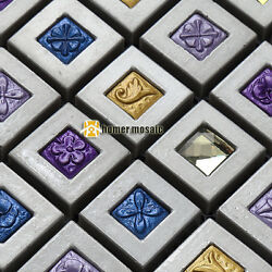multi color resin mosaic tiles for kitchen backsplash tiles bathroom mosaic
