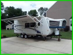 2010 Jayco Jay Feather 23J 23' Travel Trailer Slide Out Patio Awning NEW YORK