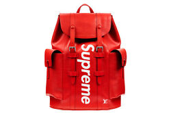 Louis Vuitton x Supreme Christopher Backpack Epi Red (Rare)