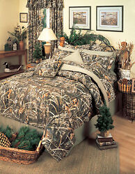REALTREE MAX 4 CAMOUFLAGE CAMO COMFORTER BEDDING SET