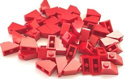 *NEW* 50 Pieces Lego RED Slope 45 2x1 ROOF 3040 $5.00