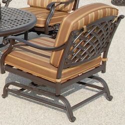 Outdoor Patio Furniture Club Chair Cushions No Assembly Required Garden Deck
