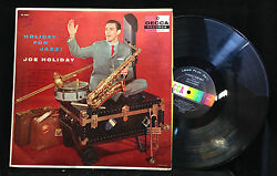 Joe Holiday Holiday For Jazz Decca 8487 MONO $9.99
