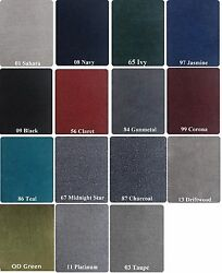 20 oz Cut Pile Marine Outdoor BASS Boat Carpet - 6' width (5'-30') and 15 Colors