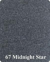 20 oz Cut Pile Marine Outdoor BASS Boat Carpet - 8.5' x 30' -  METALLIC GRAY
