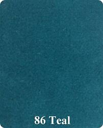 20 oz Cut Pile Marine Outdoor BASS Boat Carpet - 8.5' x 30' - TEAL BLUEGREEN