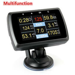 Auto Car OBD OBD2 Driving Computer Speed Meter Digital Display Gauge with Holder $77.95