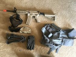 Gamp;G Combat Machine w one clip gloves vest holster mesh lower and upper $215.00