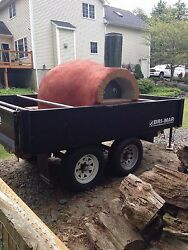 WOOD FIRED PIZZA OVEN CONCESSION TRAILER FOOD CATERING EVENT MOBILE TRUCK CART
