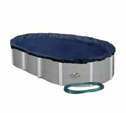 12 X 24 Oval Economy Aboveground Swimming Pool Winter Cover 8 Yr. Warranty $34.99
