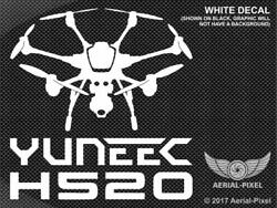 Yuneec H520 Window Case Decal Sticker for Hexacopter UAV Drone ST16S E90 E50 $9.00