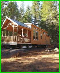 2017 Palm Harbor Home Park Model Log Cabin Completely Furnished Tiny Home OREGON