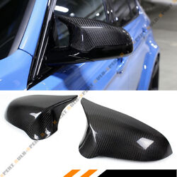 FOR 2015-19 BMW F80 M3 F82 M4 CARBON FIBER DIRECT REPLACEMENT SIDE MIRROR COVERS $169.99