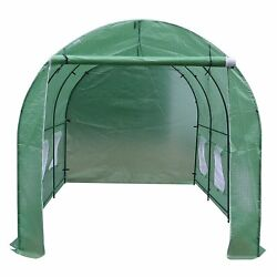 BenefitUSA Cover Canopy Replacement For Hot Green House 12'X7'X7' Larger Walk In