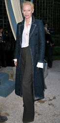 Chanel Couture dress Coat Runway 2012 SUPER EXCLUSIVE Retail $11500 FR50