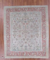 Sultanabad design rug hand made in Iran wool pile 8.8 x 10