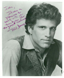 Ted Danson (Vintage Inscribed) signed photo COA