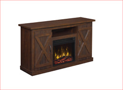 Classic Flame  Cottonwood 47.50 in. Espresso Media Console Electric Fireplace