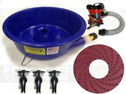 BLUE BOWL PAN GOLD Prospecting CONCENTRATOR + How to DVD + PUMP + LEVELER KIT $149.95