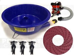 BLUE BOWL PAN GOLD Prospecting CONCENTRATOR How to DVD PUMP LEVELER KIT $129.95