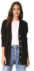 NEW Equipment Gia Cashmere Cardigan in Black - Size S
