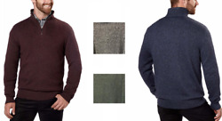 NEW!! Calvin Klein Men's 14 Zip Sweater Variety in Size and Color