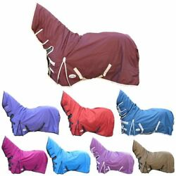 Best On Horse 100g 600D Waterproof Equestrian Fixed Full Combo Neck Turnout Rugs