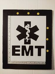 Star of Life EMT Emergency Medical 8.5quot; x 11quot; Custom Stencil FAST FREE SHIPPING $12.73