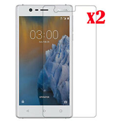 Premium 9H Tempered Glass Screen Protect Waterproof Cover For Nokia 3 5 6 8 2017 GBP 1.59