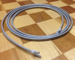 Dental Air Water Syringe Tubing 7' Hose with Sleeve Fittings Gray $12.99