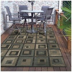 Superior Colburn Collection 8' x 10' Area Rug IndoorOutdoor Rug with Jute and