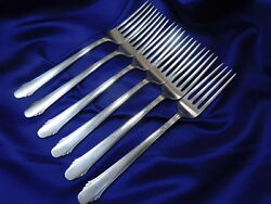 GORHAM HUNT CLUB STERLING SILVER DINNER FORK - GOOD CONDITION S $52.95