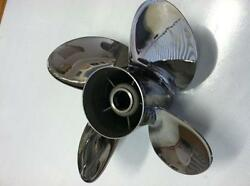 4 Four Blade Stainless Steel Boat Propeller Prop 145x19 By