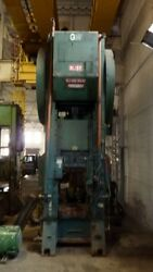 300 Ton Capacity Bliss Single-Point Press For Sale (Two Available)