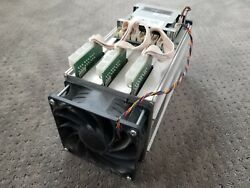 USED Bitmain AntMiner S7 ASIC BitCoin Miner 4.73THs + (2) Thermaltake 850w P.S.