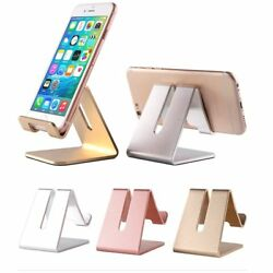 Universal Generic Aluminum Cell Phone Desk Stand Holder For Phone and Tablet New $6.99