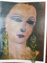 very cool chandelier fashion earrings made in Italy $25.00