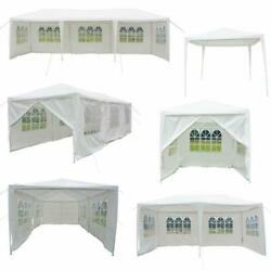 10'X 10'20'30' Canopy Wedding Party Tent Gazebo Pavilion wWalls Cover Outdoor