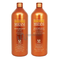 Mizani Moisturfusion Milk Bath & Silk Cream Conditioner 33.8oz Roll-on Body Oil