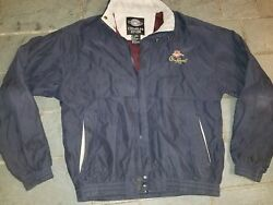 Crown Royal Maple Finished Soft She'll Jacket Size L logo golf windbreaker