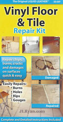 Liquid Leather Vinyl Floor and Tile Repair Kit - NEW Fast Shipping!