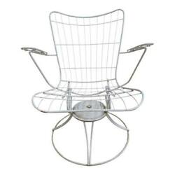 Vintage Mid Century Homecrest Outdoor Patio Porch Lounge Chairs  A