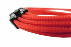 NEW SINGLE SLEEVED RED CABLE GELID SOLUTIONS PCI 6 pin CA 6P 01 300 mm M5B2CA C $25.77