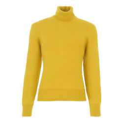 TOM FORD Cashmere Turtleneck Sweater L  52EU Mustard Yellow Made in Italy