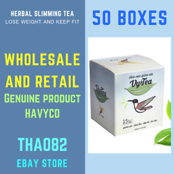 50x Vy&tea natural herbal tea help weight losssleep deep and purifying the body