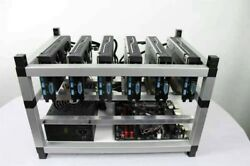 320 MHs Ethereum 516 Hs Zhash 228 Beam 174 X16R Crypto Coin Currency Mining Rig