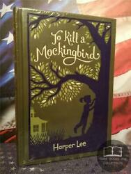 NEW SEALED To Kill a Mockingbird by Harper Lee Bonded Leather Hardcover Edition $34.95