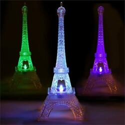 10quot; Light Changing LED Acrylic EIFFEL TOWER Wedding Party Centerpieces Wholesale