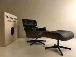 Vitra Miniature Herman Miller Eames Lounge Chair And Ottoman - New